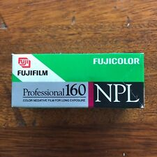 Fujifilm Fujicolor Professional NPL 160 Color Negative Film 120 Roll