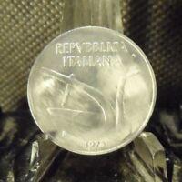 CIRCULATED 1973 10 LIRA ITALIAN COIN (81518)4.....FREE DOMESTIC SHIPPING