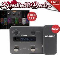 Hotone Ravo MP10 Multi-Effects Guitar Processor with USB Audio Interface