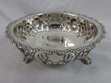 Victorian Silver sugar bowl, 1891, 163gm