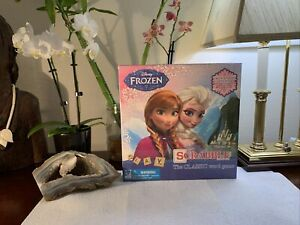 NEW Disney Frozen Scrabble Board Game Letter Matching Crossword Elsa Anna SEALED