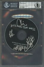 8042 Poison The Wall Signed CD Cover AUTO Autograph Beckett BGS