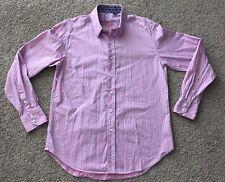 ROBERT GRAHAM Medium Pink Striped Shirt