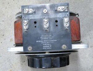 General Radio Variac Type W20 autotransformer