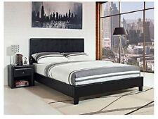 california king bed frame size complete platform black faux leather headboard - California King Bed Frames
