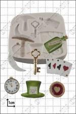 Silicone mould Alice in Wonderland | Food Use FPC Sugarcraft FREE UK shipping!