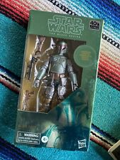 Star Wars Black Series Carbonized Boba Fett 40th Anniversary Empire Strikes Back