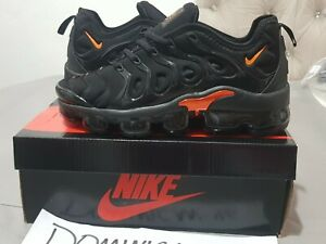 Nike VaporMax Plus Black & Orange Size 7