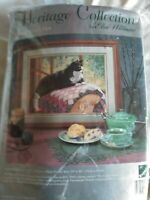 A Room with A View Needlepoint Kit, Herritage Collection Elsa Williams