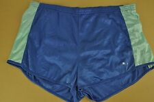 vtg Puma Retro Shiny High Leg Sprinter Shorts - Glanz Ibiza - Medium #2211