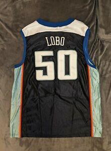 REBECCA LOBO New York Liberty AUTHENTIC Jersey Large NBA Hammon WNBA UCONN Sewn