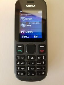 Nokia 100 Cell Phone Black for Intel Network