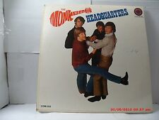 """THE MONKEES -(LP)- HEADQUARTERS - FEATURING """"YOU JUST MAY BE THE ONE"""" MONO- 1967"""