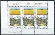 1977 EUROPA PORTOGALLO FOGLIETTO MNH ** - EV