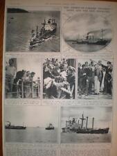 Steamer American Farmer collides William J Riddle 1946