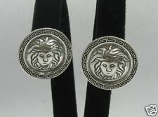 STERLING SILVER EARRINGS GREEK STYLE PERFECT QUALITY