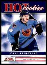 2011-12 Score Hot Rookies Carl Klingberg Rookie #536