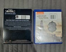 Avatar The Last Airbender + The legend of Korra Complete Series Blu Ray