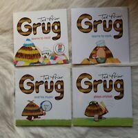 GRUG BOOK PACKS Ted Prior Children Illustrated Book Short Story FICTION for KIDS