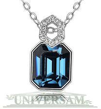 Platin beschichteter Modeschmuck-Halsketten aus Kristall