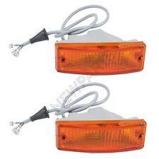 For Porsche 911 912 930 Pair Set of 2 Front Turn Signal Light Assemblies OEM