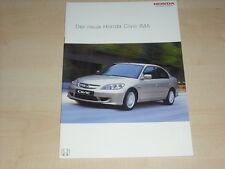 59132) Honda Civic IMA Prospekt 03/2004
