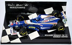Williams Renault FW19 Formula1 1997 #4 H. H. Frentzen 1:43 Minichamps
