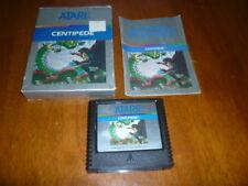 Centipede (Atari 5200, 1982) Cartridge, Box and Instructions