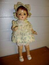 """Effanbee ~ Antique Vintage Early 1920's Composition Cloth 20"""" Patsy Doll"""
