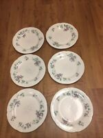 Set of 6 Pfaltzgraff Grapevine Dinner Plates - Made in USA used as is
