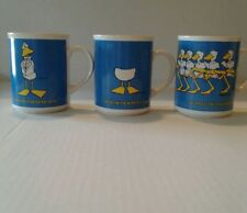 3 1985 Duck Tales Coffee Mugs by John Baron