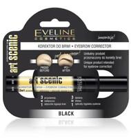 EVELINE COSMETICS ART SCENIC EYEBROW CORRECTOR BLACK OR BROWN