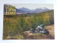 Twin Peaks Gold Box Postcard #8 of 61 -  (James w/ Motorcycle) - 2007