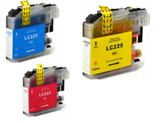 Compatible Brother High Yield LC225XL Ink Cartridges - Cyan, Magenta, Yellow