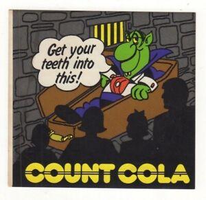 Australian Sticker. Count Cola