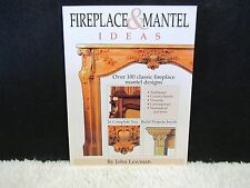 2000 Fireplace & Mantel Ideas by John Lewman Paperback Book