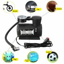 1Pc 300PSI 12V Portable Mini Air Compressor Car Tire Electric Air Inflator Pump
