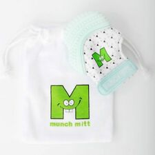 Malarkey Kids Munch Mitt Teething Mitten - Mint Green