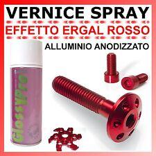 VERNICE SPRAY EFFETTO ERGAL ROSSO - ALLUMINIO ANODIZZATO 400ml. PROFESSIONALE