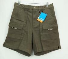 NEW NWT Columbia Men's PFG Fishing Cargo Hiking Shorts Dark Brown Medium