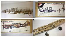Top Flite P-40 WARHAWK Scale RC Airplane kit RARE