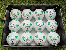 Callaway Chrome Soft TRUVIS Golf Balls Shamrock Limited Dozen (12) Balls 5A Mint