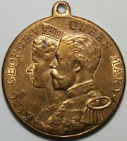 1911 | George V & Queen Mary Medal | Medals | KM Coins