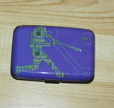 Hard Case Wallet / Credit Card Holder  Hard Plastic  7 Slots  Sports Design