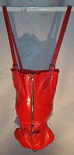 Red Armbinder with Long Zipper, MonoGlove, Single Glove, Bondage, fetish, UK