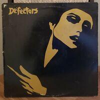 Defectors Vinyl LP 1984 Zerbine's Records Punk New Wave K.G. B. and G.O.P.