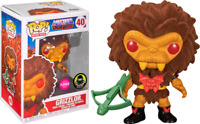 Grizzlor Flocked MOTU Funko Pop Vinyl New in Box