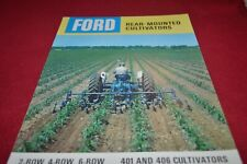 Ford Tractor Rear Mounted Cultivators Dealers Brochure AMIL15