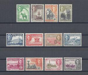 GOLD COAST 1948 SG 135/46 MNH Cat £85