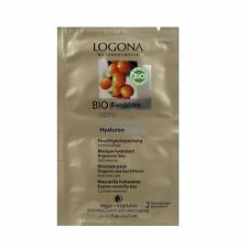(26,33/100ml) 3x Logona Age Protection Feuchtigkeitspackung Bio Sanddorn15 ml